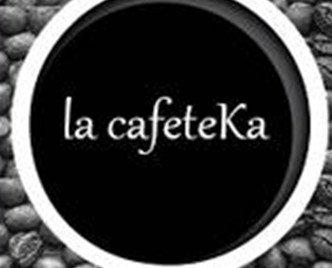 El mejor café del mundo. Logo la cafeteka