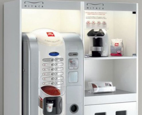 perla. máquina de café vending