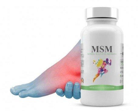 MSM. Mejora la regeneración muscular y articular
