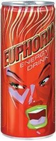 Bebidas energizantes. Euphoria, bebida energética
