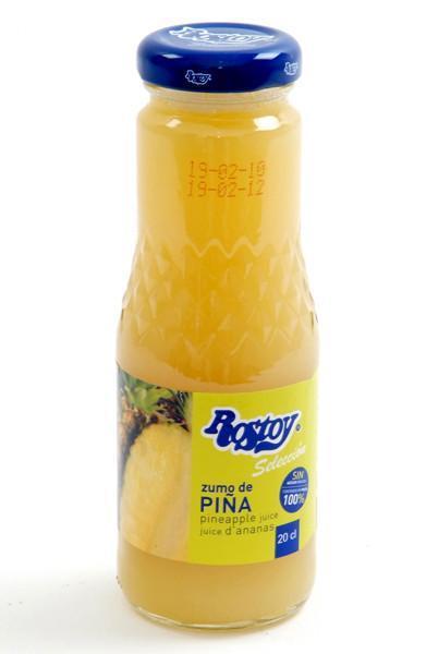 Zumos Naturales. Varios sabores de zumos frutales