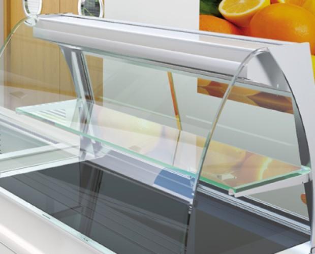 vitrinas. Disponemos de vitrinas refrigerantes para hostelería