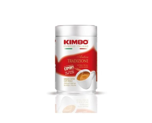 Café molido Kimbo. Café molido Antica Tradición