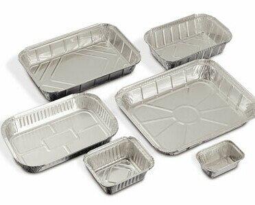 Envases de aluminio. Contamos con una amplia variedad de envases en stock