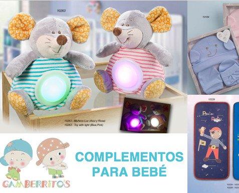 COMPLEMENTOS-PARA-BEBE-GAMBERRITOS-ARTIC. Complementos para Bebé al por mayor Gamberritos