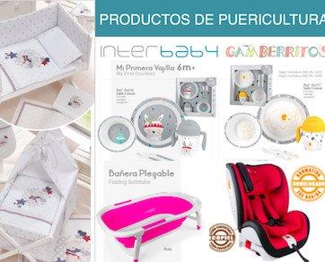 PUERICULTURA-AL-POR-MAYOR-INTERBABY-MAYO. Complementos de bebé puericultura Interbaby y Gamberritos. Mas de 1500 referencias