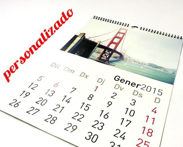 Almanaque 2017. Calendarios y almanaques 2017, personalizados