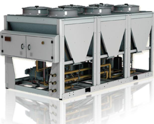 central de frío industrial. centrales de frío industrial