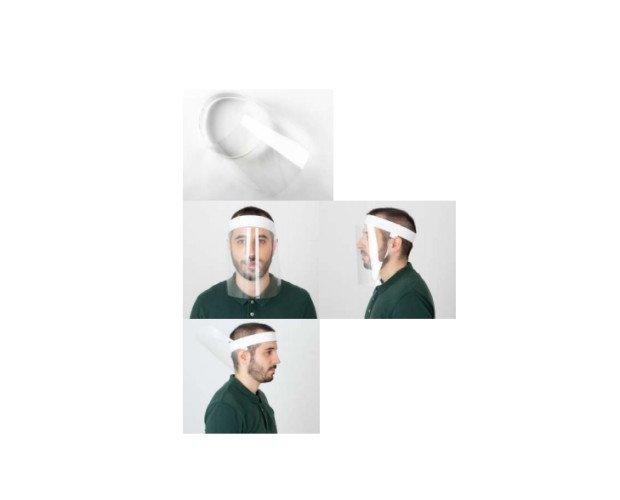 Pantalla Protectora Facial. Ofrece una protección facialcompleta: nariz, boca y ojos