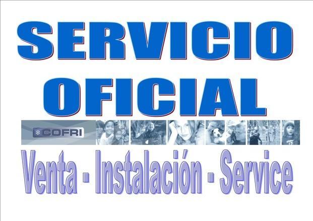 Servicio oficial Cof. Atención post-venta de aparatos de frío en Galicia.