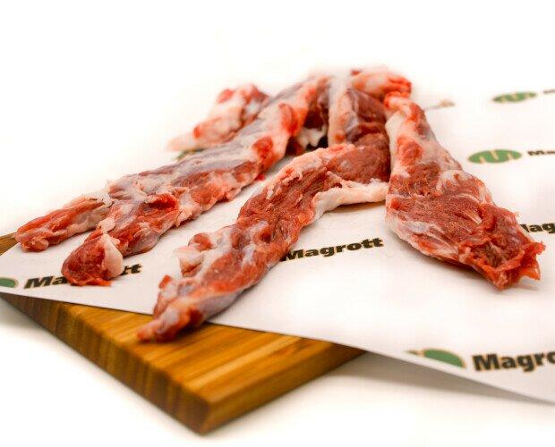 Lagarto Ibérico. Es la tira de carne que se extrae cuando se deshuesan las chuletas