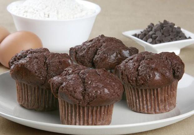 Bollería. Muffins variados, magdalenas y conchas