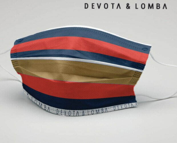 Mascarilla  Devota & Lomba. Se recomienda lavar la mascarilla 5 veces