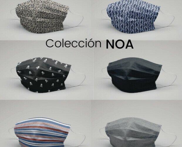 Mascarillas colección Noa. Mascarillas lavables hechas en España
