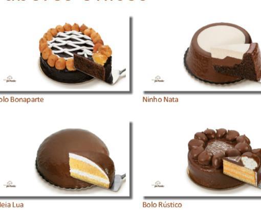 Tartas de chocolate. Gran variedad de tartas de chocolate