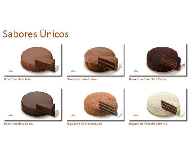 Diversidad de tartas de chocolate. Tartas con sabores únicos