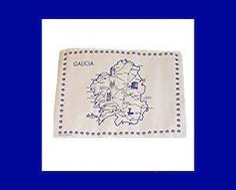 Mantel Individual. Impreso con motivo Galicia