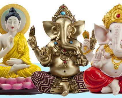 Figuras Buda/Ganesh. Figuras de BUDA/GANESH para decoración del Hogar.