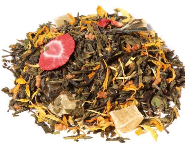 8 placeres sensuales natural. Delicioso té