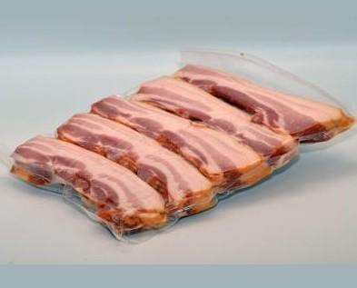 Embutidos Curados. Bacon Curado. Pack de 1Kg. Sin inyectar, sin corteza y sin ternilla