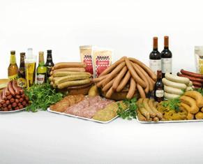 Nuestros productos. Bodegon con una seleccion de nuestros productos.