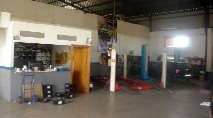 Taller Mecánico. Reparación de vehículos