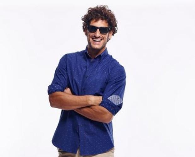 camisas azules. camisas de vestir