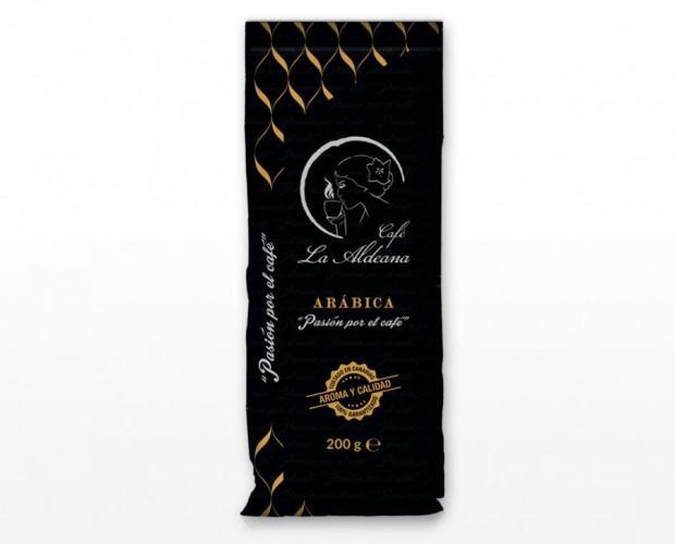 Café premium. Con más de un 80% de café arábica.