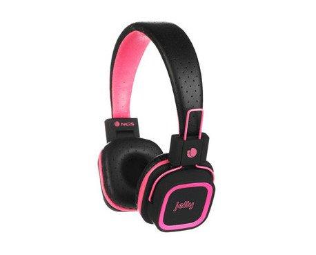 Auriculares rosa. Con micrófono bluetooth