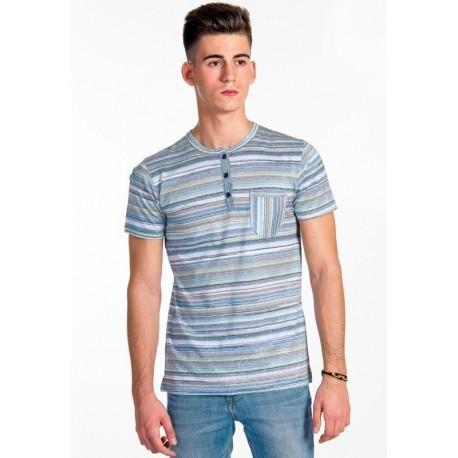 Camiseta hombre Bahamas. Algodón mercerizado