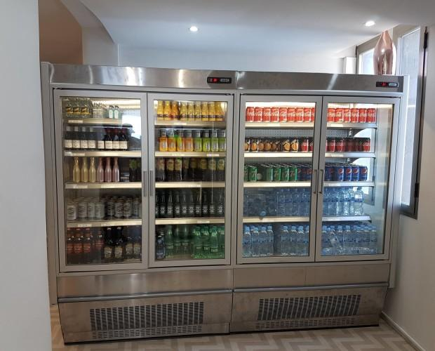 Vitrinas refrigeradas. Máxima eficiencia