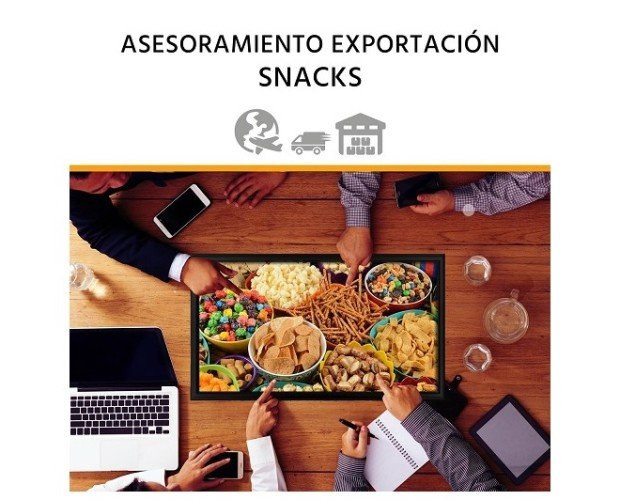 Asesoría en exportación de snack. Mejoramos tu expansión internacional