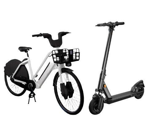 Bicicletas y patinetes. Contamos con bicicletas y patinetes eléctricos de la mejor calidad