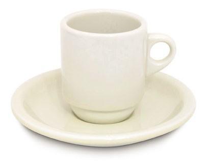 Porcelana para café. Tazas de café de varios tipos, personalizables