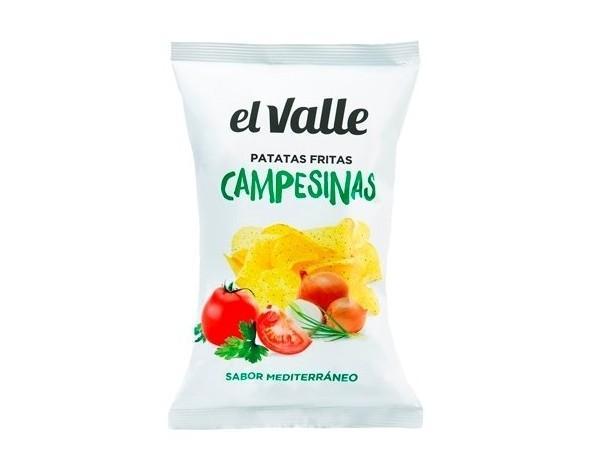 Patatas fritas Campesinas. Con el sabor Mediterráneo
