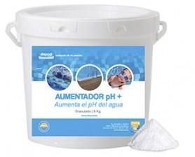 Aumentador de Ph. Compuesto granulado para el incremento del pH del agua en piscinas