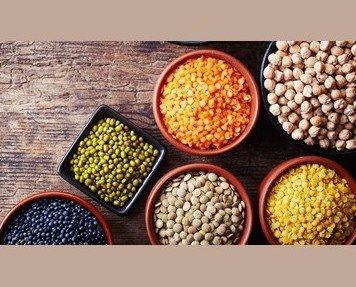 Variedad de legumbres. La mejor calidad