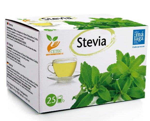Stevia. Hojas trituradas de Stevia Rebaudiana Criolla.