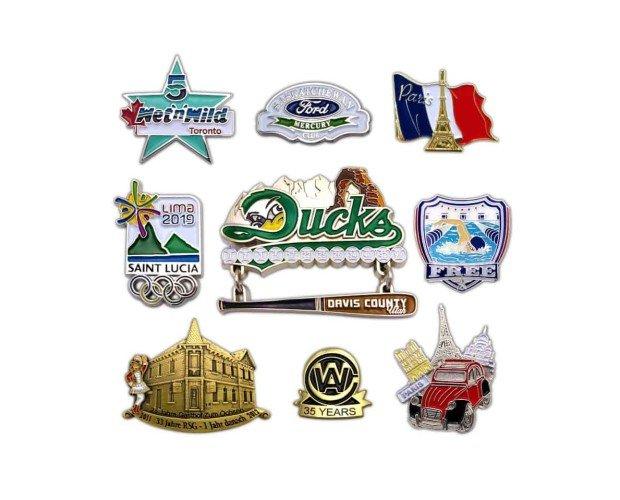 Pins. Diseños personalizados