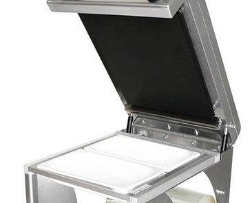 TERMOSELLADORA_ORVED_PROFI3. Termoselladora Orved barquetas medidas Gastronorm. Moldes intercambiables.Catering.