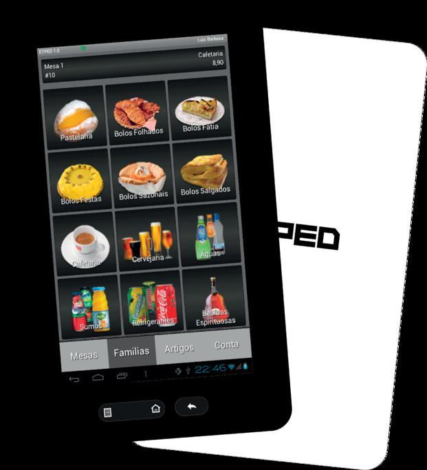 Comandero  ETPed. Comandero Táctil Android para Hostelería.