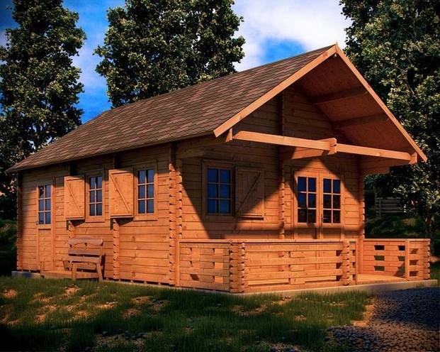 Im genes de casas de madera shop for Casas de madera shop