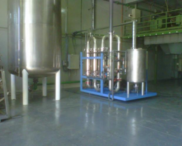depuración de aguas. depuradora de agua