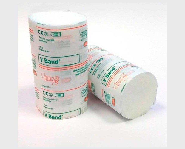 Venda acolchado V Band. Venda acolchado para reducir el riesgo de rozaduras y úlceras traumática