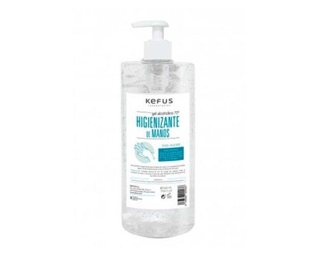 Gel alcohólico higienizante. Para limpieza de manos sin necesidad de emplear agua