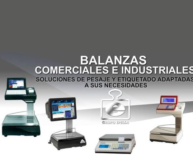 Balanzas comerciales e industriales. Productos de la más alta calidad