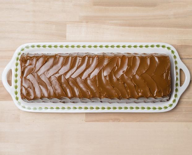 Pastelería. Pastelería Argentina. Dulce de creación propia de origen argentino, elaborado con plátano y dulce de leche