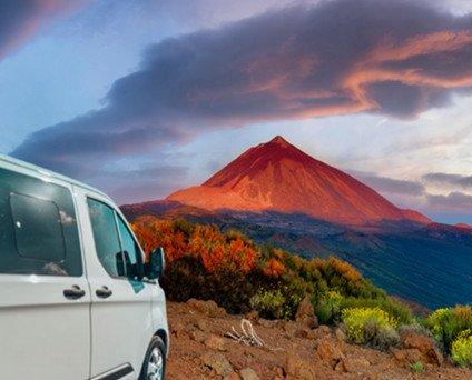 Agencias de Viajes.Ruta privada y personalizada al Parque nacional del Teide