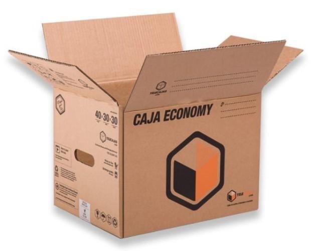 Caja para Mudanza. Caja de cartón tipo americana para almecenar libro
