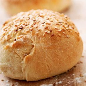 Pan de hamburguesa. Panes especiales para bares
